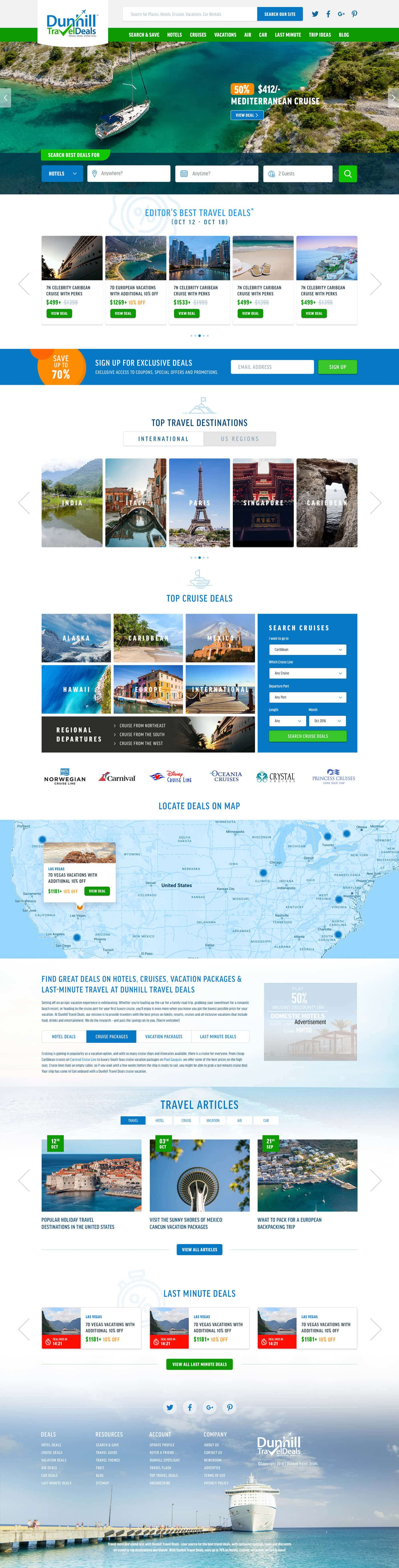 Travel Website Design & Development