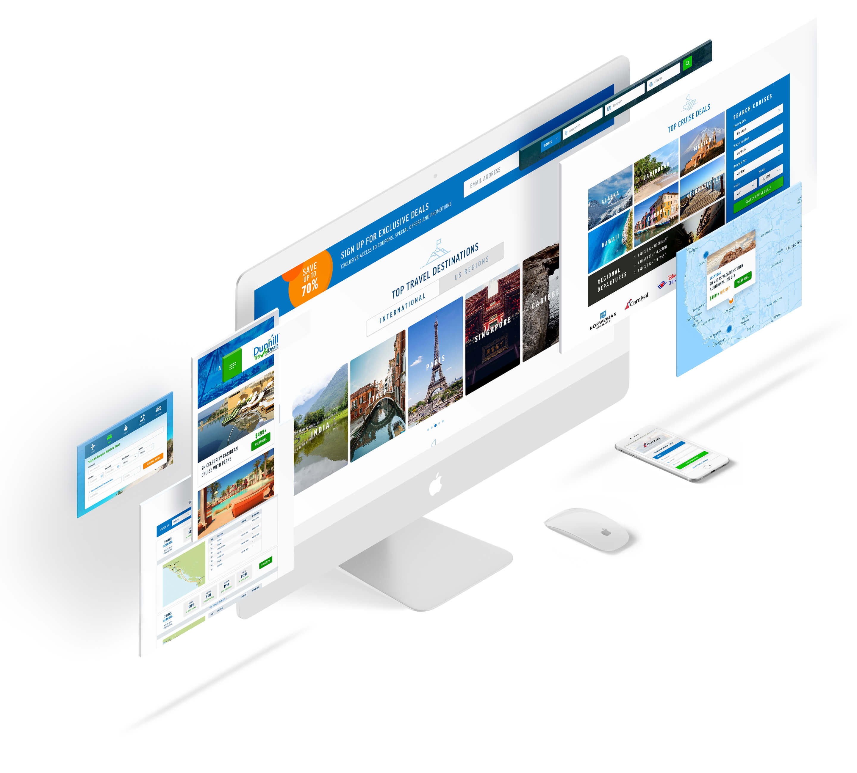 User Experience Design for a Travel Site