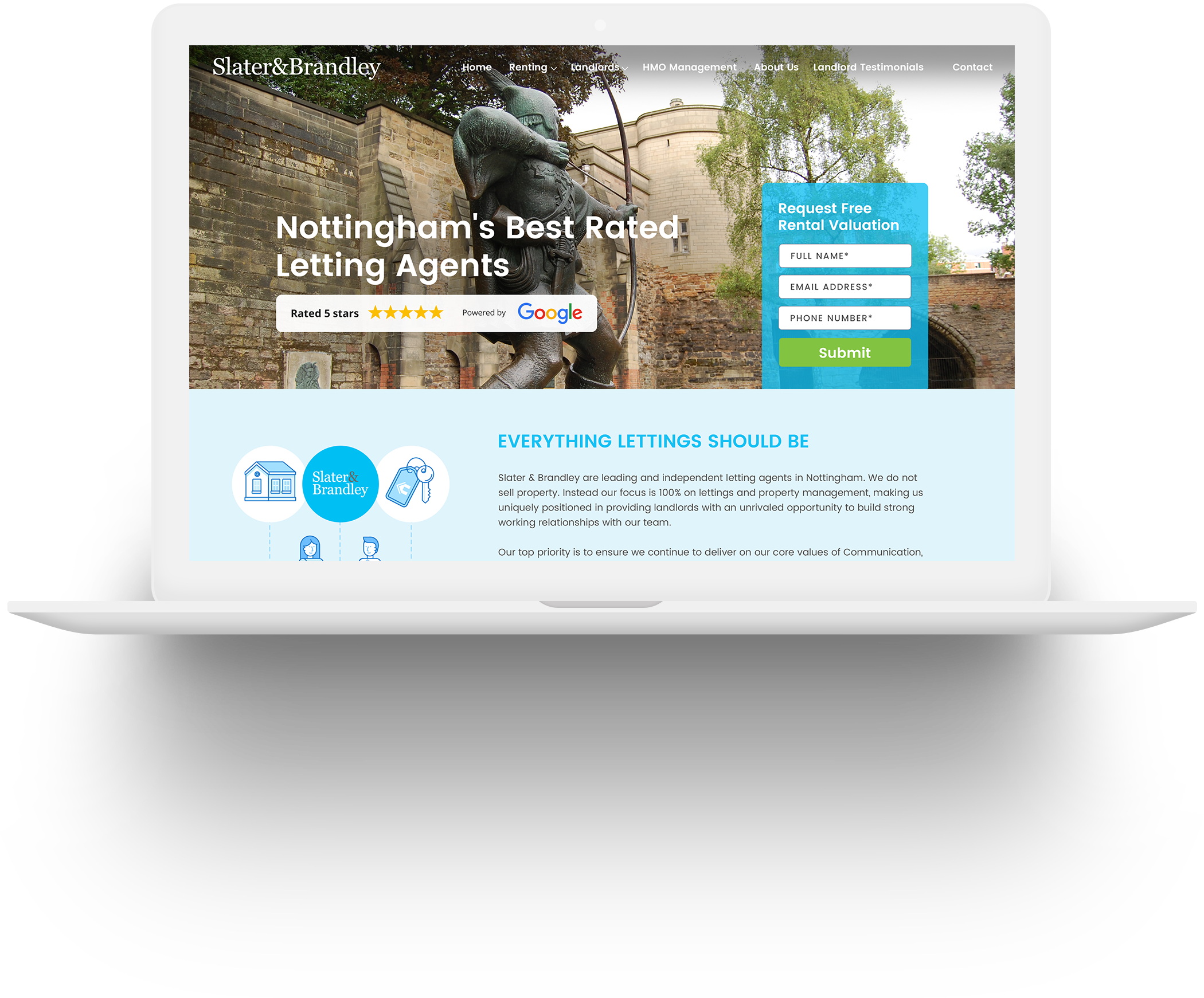 Wordpress Development for Real Estate Letting Agents in Nottingham