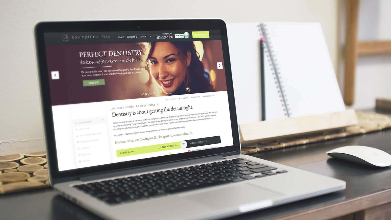 Dental Practice Web Design