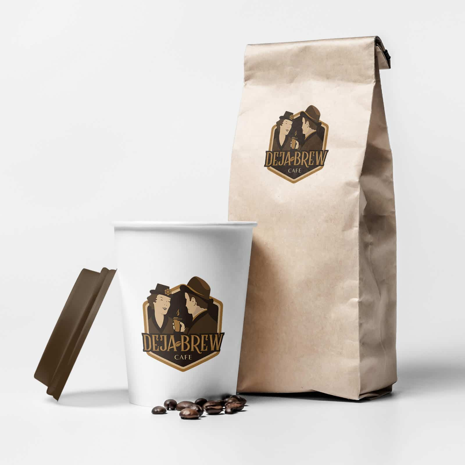 Coffee Cafe Package Branding