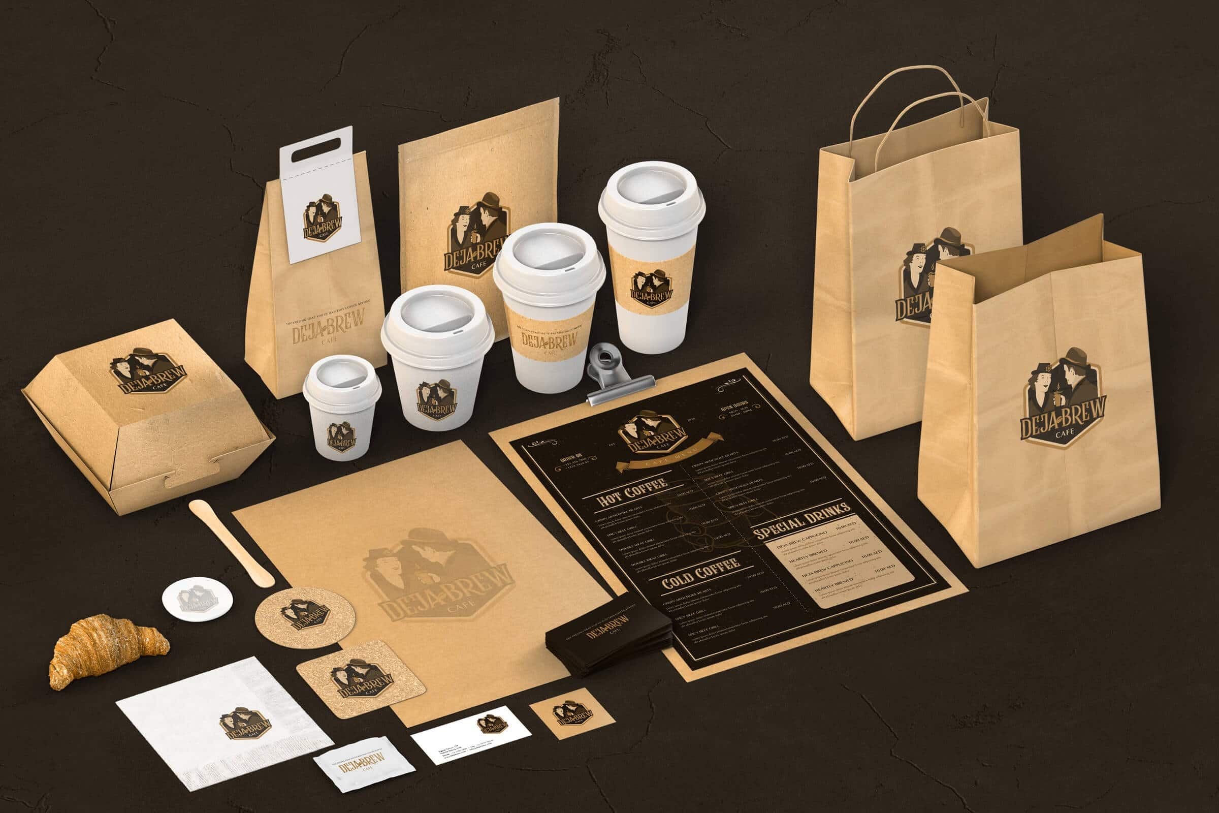 Coffee Cafe Branding